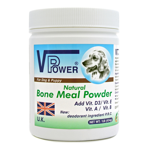 Bone meal powder dogs